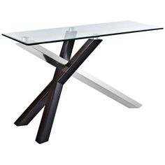 Verge Deep Espresso Rectangular Sofa Table