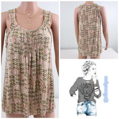 Meadow Rue for Anthropologie Tank Lightly worn and in excellent condition. No signs of stains or major signs of wear.   Bundle and save! 20% off of two or more items in my closet. Automatically applied at checkout. Anthropologie Tops Tank Tops