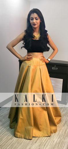 Sriti Jain - KALKI Crop Top Lehenga