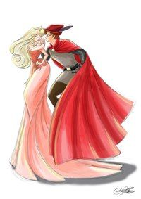 Princess Aurora & Prince Philip/ Sleeping Beauty