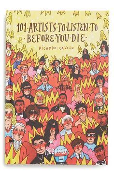 '101 Artists To Listen To Before You Die' Book available at #Nordstrom