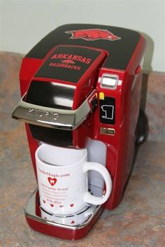 Shut the front door! I need a Razorback Keurig!
