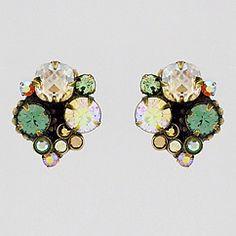 Water Lily Clip Earrings. (50 USD)