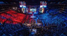 Ever wonder why millions of people watch eSports around the world? You have to check out this eSports League of Legends documentary. League Of Legends, Championship League, World Championship, Indie Games, Fifa, Video Game Tournaments, 100 Millions, La Champions League, Video Game Companies