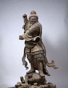 National Treasure virūpākṣa image 8-9 century | Kanai Morido Photo gallery | cultural assets | Justice Minister sect head temple Kofukuji