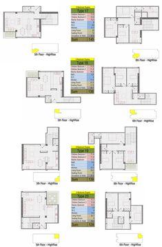Mehrshahr Residential Complex Proposal / ContemporARchitectURban Designers Group,typical plans 17-20