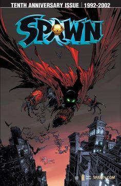 Comic Movies, Comic Books Art, Book Art, Image N, Tenth Anniversary, Todd Mcfarlane, Demon Art, Story Setting, Image Comics