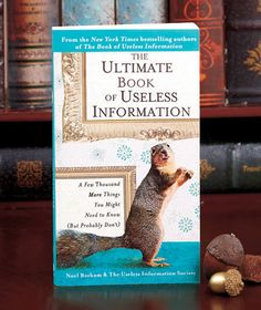 The Ultimate Book of Useless Information- Fun facts to keep you entertained when you only have a few minutes to read  #LakesideCollection