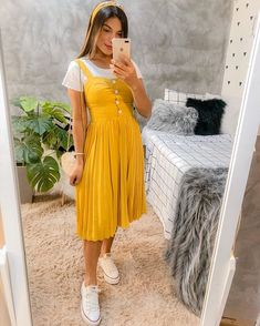 impressive summer outfits you need this moment 40 ~ my.me impressive summer outfits you need this moment 40 ~ my. Modest Casual Outfits, Cute Summer Outfits, Modest Dresses, Modest Fashion, Spring Outfits, Trendy Outfits, Cute Dresses, Cool Outfits, Fashion Dresses