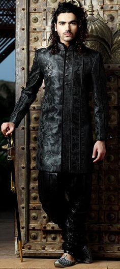 Code-11660  #Fall 2013 colors for Men: #Dark Shadows    #Black tones of nightfall look instinctual illuminations.