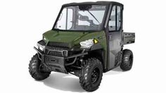 New 2017 Polaris Ranger Diesel HST Deluxe ATVs For Sale in South Carolina. Factory-installed cab with heat, defrost and A/CTreadle pedal to travel FWD and REV without shifting gearsDiesel power with hydrostatic transmission