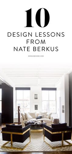 10 lessons we learned from Nate Berkus