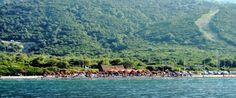 Saoki, the musicality beach bar in Samothraki Greek Names, Karpathos, Beach Bars, Archipelago, Crete, Dolores Park, Beautiful Places, River, Outdoor