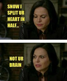 Awesome Regina and Snow