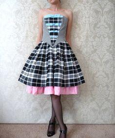 too cute plaid dress