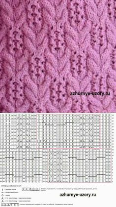 Wires Stitches, Sciegi Na Druty Wzory, K Knitting - Diy Crafts - maallure Lace Knitting Stitches, Cable Knitting Patterns, Baby Hats Knitting, Crochet Stitches Patterns, Knitting Charts, Knitting Designs, Wall Photos, Knit Jacket, Lace Knitting Patterns