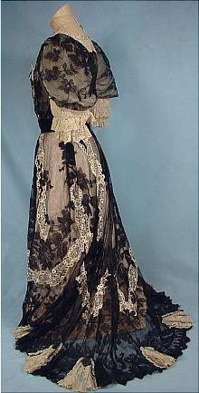 c. 1905 Evening Gown. Stunning