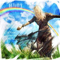"""タクロー @okadown SoshiArt Taeyeon & seven light """"Under the Rainbow"""" ~일곱빛・ナナイロノヒカリ~"""