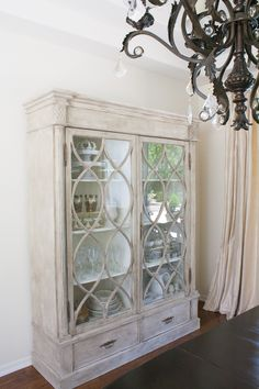 Dining room with Gracie cabinet by Gabby styled by Randi Garrett Design