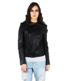 Tizoto Black Leather Jackets Biker Couple, Leather Jackets Online, Chinese Collar, Bike Store, Mountain Biking, Black Leather, Bicycle, Stuff To Buy, Shopping