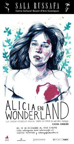 Paula Bonet Adventures In Wonderland, Alice In Wonderland, Paula Bonet, Through The Looking Glass, Illustration Girl, Art World, Movie Posters, Portraits, Paintings