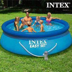 Circular Pool with Filtering System Intex