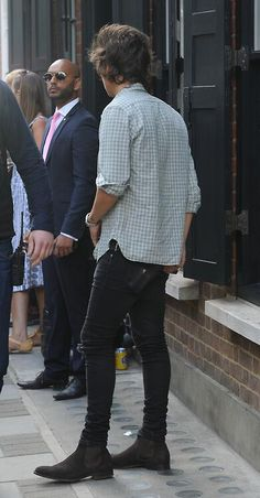 I really love Harry's style :)