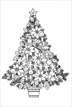 Kerstboomstempel