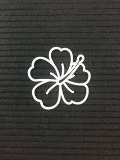 Go to our Hawaiian Pack to see other images to go with it. Hawiian Flower Tattoo, Hawiian Flowers, Hawaii Flower Tattoos, Hawaiian Flower Drawing, Cute Henna Tattoos, Shirt Drawing, Flower Silhouette, Hawaiian Theme, Tattoo Graphic