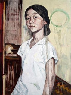 Hung Liu: Dawn Blossoms Plucked at Dusk