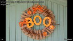 Avec cette couronne sur votre porte d'entrée le jour d'Halloween, petits montres et petites sorcières sauront que vous avez des friandises pour eux ...