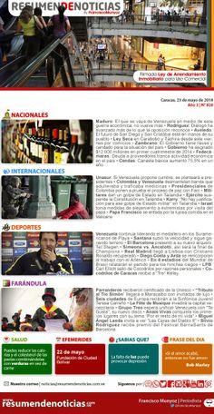 Resumen de Noticias: Viernes | 23/05/2014