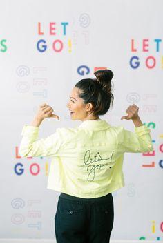 Let's Go Colored Denim Jacket