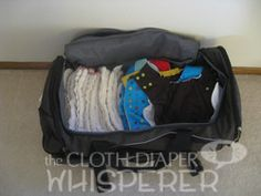 Cloth Diaper Whisperer, Traveling With Fluff