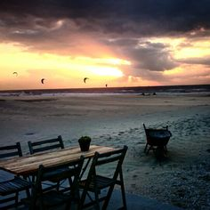 The beauty of #Dutch #beaches and #sunsets!
