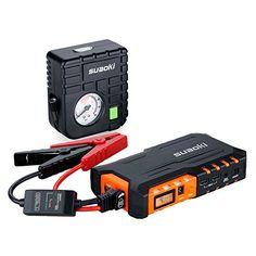 Superb Suaoki G Plus Auto Starthilfe mAh A Batterieladeger t Autobatterie Anlasser mit Mini Luftkompressor LED Taschenlampe