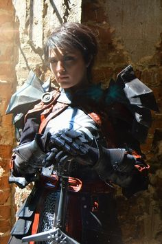 Dragon Age II cosplay by HydraEvil on DeviantArt - Cosplay Cassandra Pentaghast  by Dark Incognito