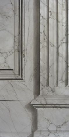 Trendy Wall Painting Effects Ceilings Ideas Marble Painting, Faux Painting, Column Design, Grisaille, Paint Effects, Wall Treatments, Architectural Elements, Painting Techniques, Architecture Details