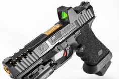 Glock - ZEV Technologies - Real Time - Diet, Exercise, Fitness, Finance You for Healthy articles ideas Weapons Guns, Airsoft Guns, Guns And Ammo, Glock Guns, Revolver, Custom Guns, Custom Glock 19, Home Defense, Cool Guns