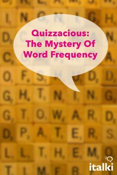 Quizzacious: The Mystery Of Word Frequency - You have almost certainly heard of this word in the last 10 days. Michael Stevens, creator of the popular Vsauce YouTube channel posted a video on the topic exploring Zipf's Law, the Pareto Principle, and the frequency of specific word occurrence in language and literature. Why this pattern occurs consistently remains one of the most fascinating unsolved mysteries of human language. #article #english