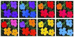 Andy Warhol The Flower Paintings New Exhibition - Artlyst Andy Warhol Flowers, Art Floral, Warhol Paintings, Interior Color Schemes, Colorful Interiors, Flower Art, Art Projects, Kids Rugs, Software