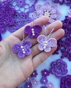 Crochet butterfly pattern by bautawitch – Artofit You can find more step by step here: Crochet flowers No photo description available. Crochet Butterfly Free Pattern, Crochet Birds, Crochet Diy, Crochet Motifs, Crochet Flower Patterns, Crochet Crafts, Crochet Doilies, Crochet Flowers, Crochet Stitches