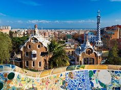 If you have a free afternoon, we recommend making your way over to Park Güell after visiting Casa Batlló. Remember what we said about Gaudí being an inevitability in Barcelona? Prepare for a continuation in your world-class architecture crash course—he designed the mosaic-filled park, too.