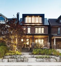 Canadian based firm Post Architecture were tasked with bringing this century-old residential home in Toronto, up to modern day standards.