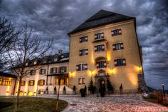 If you are anywhere near Salzburg, Austria, you should splurge and stay at the Hotel Schloss Fuschl. It is a gorgeous hotel and spa. Check out our pictures! Spa Hotel, At The Hotel, Travel Photos, Places To Go, Travel Photography, Salzburg Austria, Mansions, House Styles, Dan
