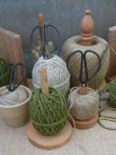 Assorted Twine Spools | Our Kitchen Garden