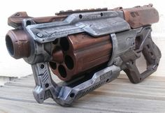 NEW Nerf N-Strike Elite Mega XD CycloneShock by DarkHaunt on Etsy - it looks like a boomshot from Gears of War