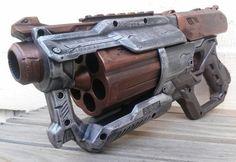 NEW Nerf N-Strike Elite Mega XD CycloneShock by DarkHaunt on Etsy - it looks like a boomshot from Gears of War