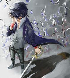 K Project Fushimi Betrayal | Pixiv Id 4000494, K Project, Yata Misaki, Fushimi Saruhiko, Sad ...