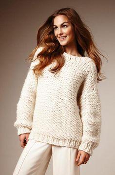MYK OG VAKKER: Hva mer kan du ønske deg? Strikk nå! Winter White, Colorful Fashion, Knitting Patterns, Knit Crochet, Turtle Neck, How To Wear, Collection, Dresses, Women